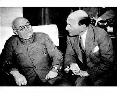 Attlee and Miaja