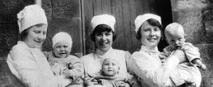 nurses and children